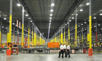 An Inside View Of The 657600 Square Foot Home Depot Rapid Deployment Center In Lake Park Facility Is Larger Than 11 Football Fields