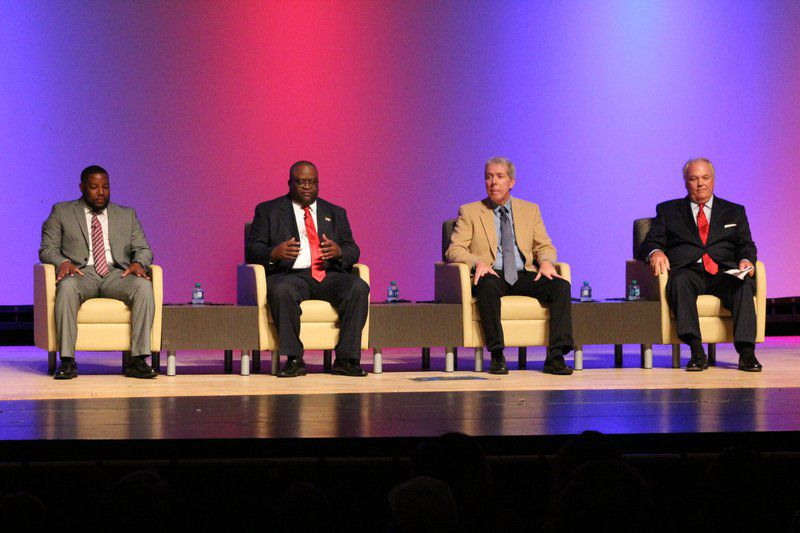 Mayor League: Candidates face off at forum
