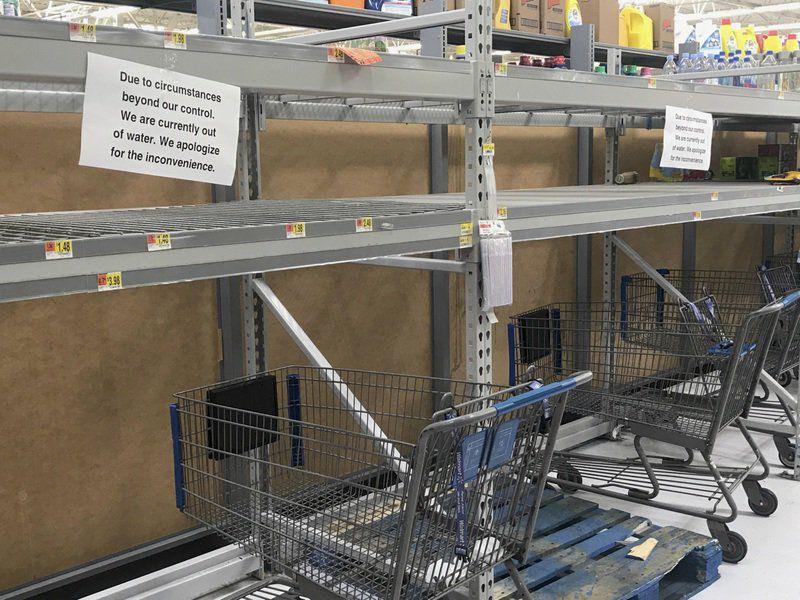 In Prep For Irma, Valdosta Storesu0027 Bottled Water Shelves Emptying