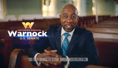 Warnock: 'The Senate could use a pastor' | Ga Fl News |  valdostadailytimes.com