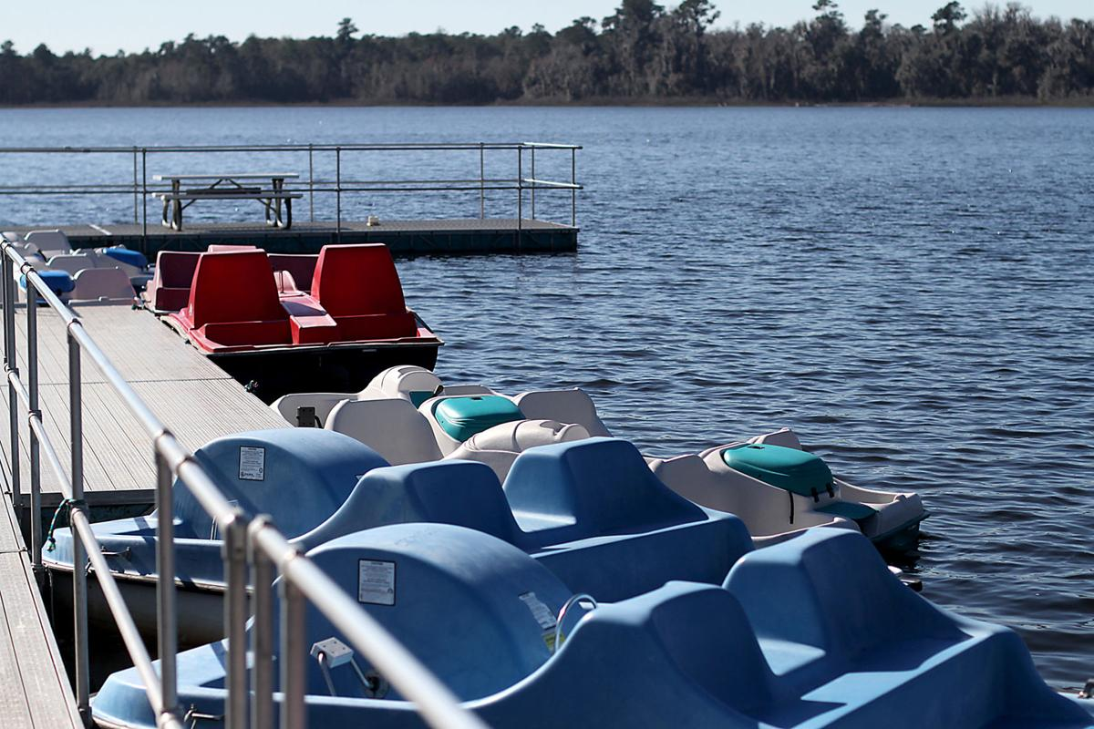 Among Its Amenities Grassy Pond Now Open To The Public Rents Paddleboats Jason Stewart Valdosta