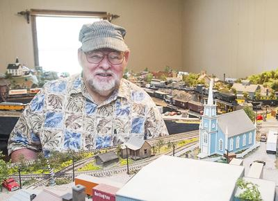 Pastor's love of trains leads to huge model train collection