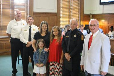 Firefighter named city employee of month