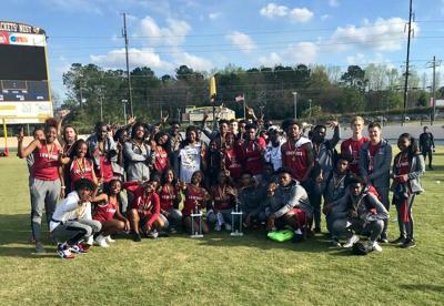 Coming out ahead: Lowndes track and field wins Yellow Jacket Invitational