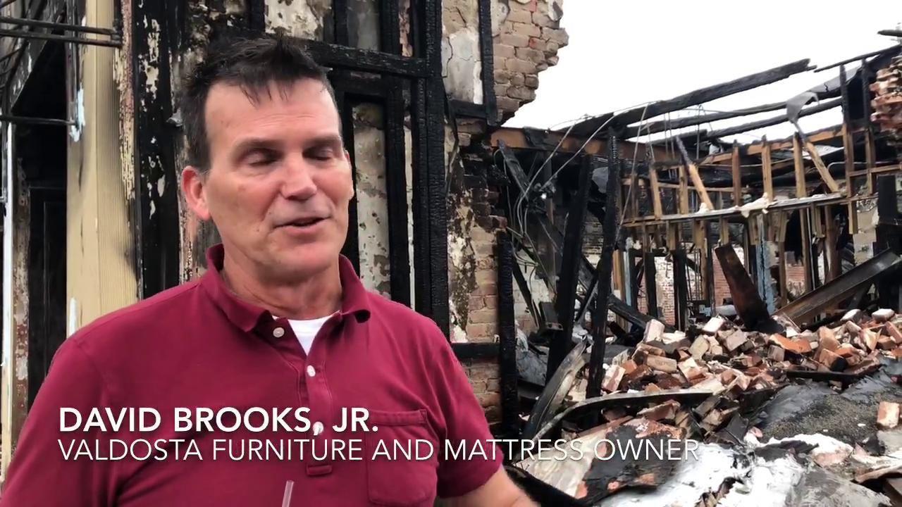 Valdosta Furniture And Mattress Fire Update