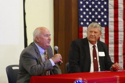 Candidates face off at forum