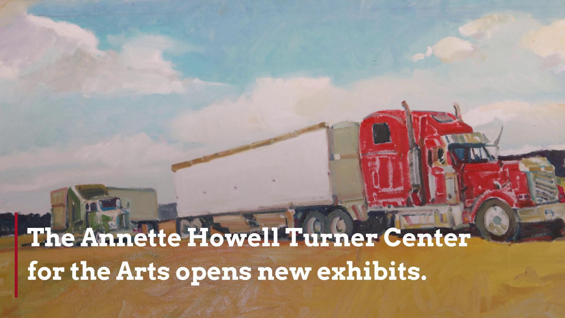 The Turner Center's new art exhibits