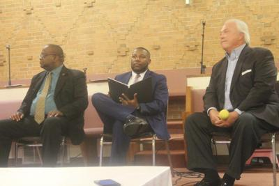Mayoral candidates square off