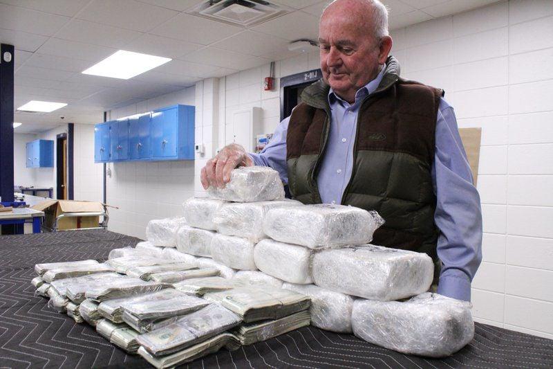 Half million in cash seized