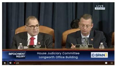 House Judiciary impeachment inquiry continues