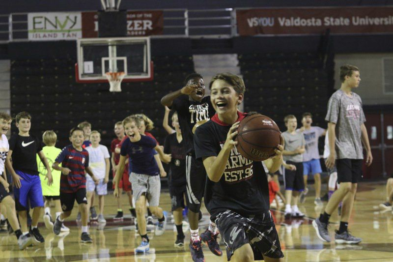 Learning Time: Instructional Day Camp imparts lessons about life, basketball