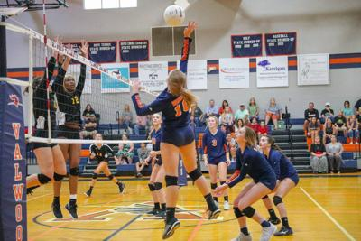 Valwood volleyball sweeps Valdosta in rivalry match