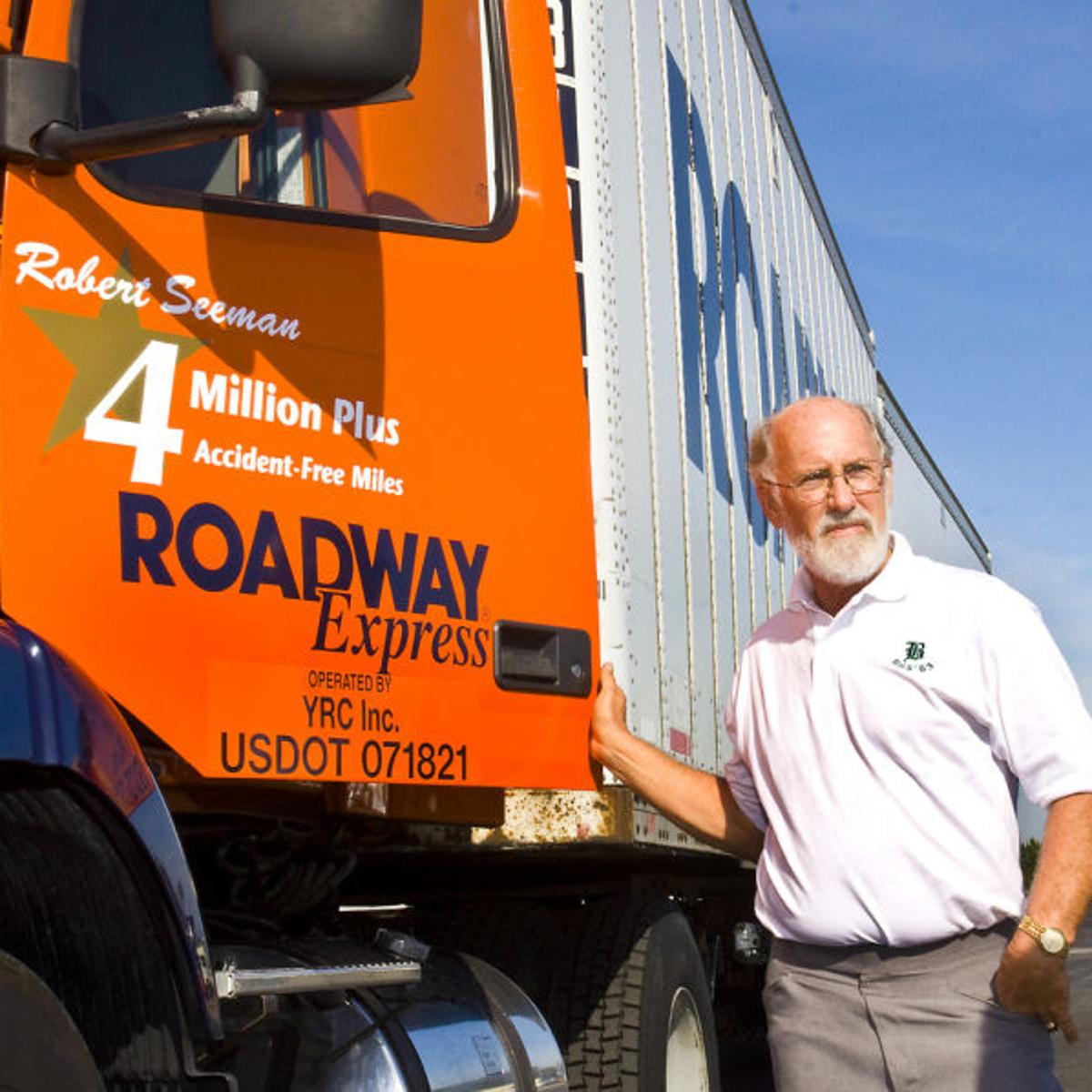 Seeman honored for career accomplishments at Roadway | Business