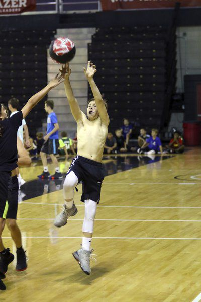 Happy Campers: VSU basketball holds Day 2