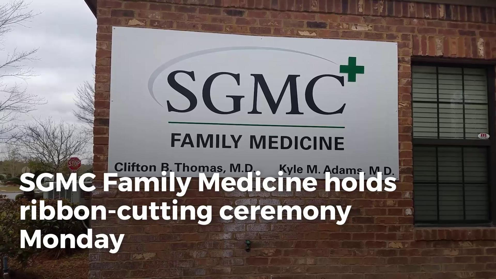 SGMC Family Medicine holds ribbon cutting ceremony Monday March 12