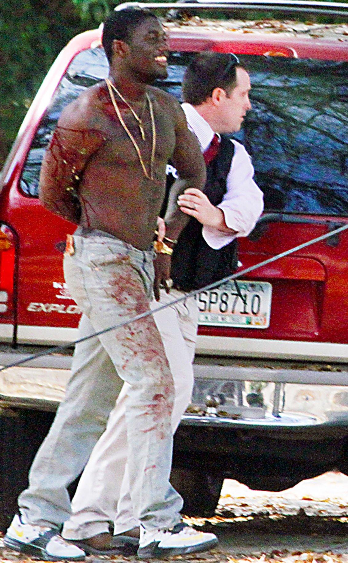 Apprehended Shooting suspect in custody