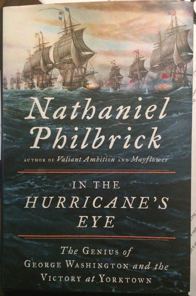 BOOK REVIEW: In the Hurricane's Eye by Nathaniel Philbrick