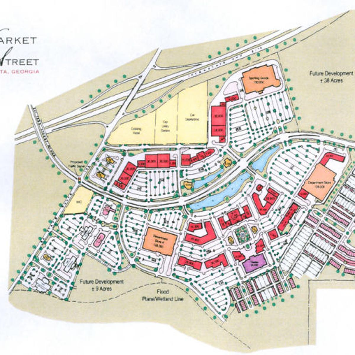Map Of Georgia Mall.New Mall Annexation On Commission S Agenda Local News