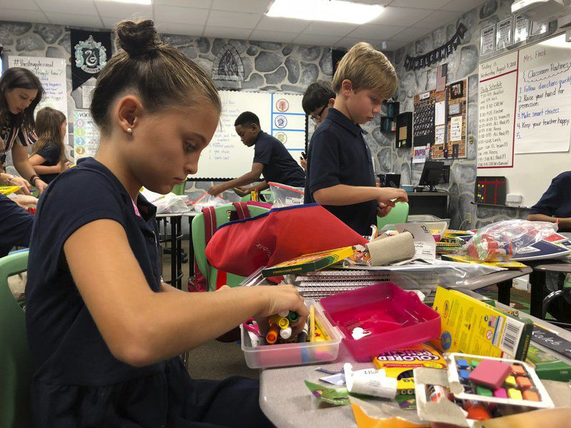 Charter school incorporates art into instruction