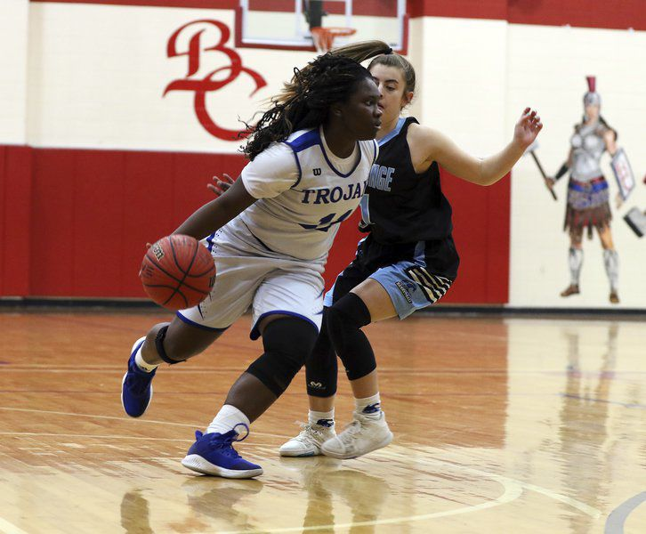Making a way: Lady Trojans' Adreanna Dennis signs with Andrew College