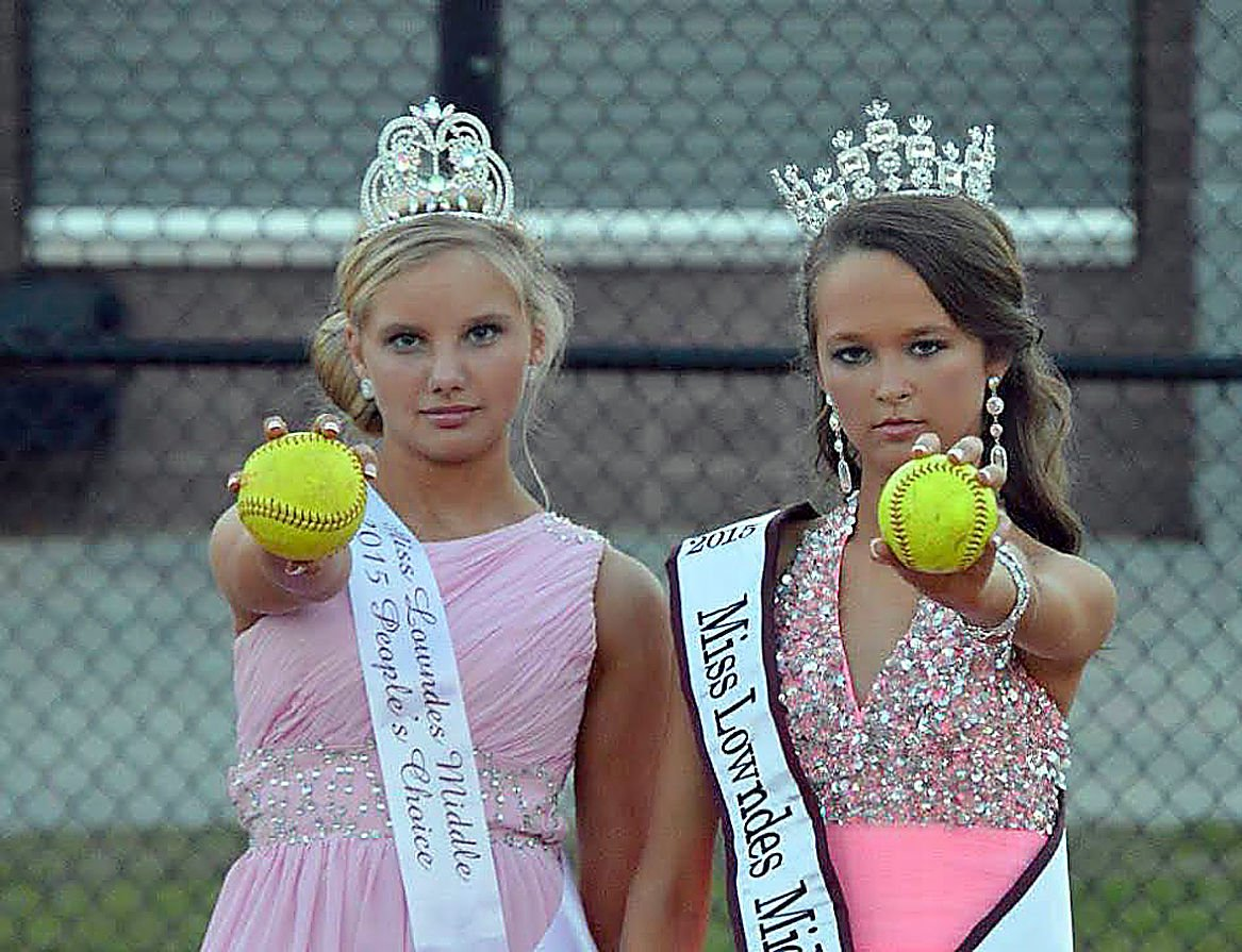 LMS cheerleading hosts Miss Lowndes Middle School 2015