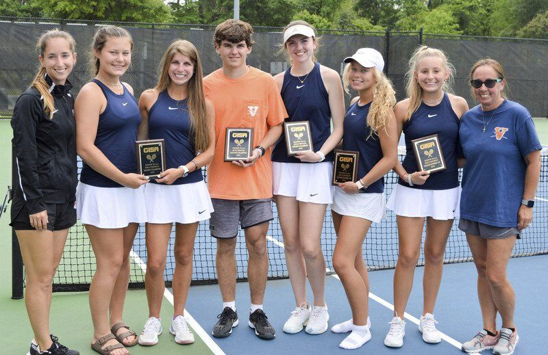 Valwood tennis secures top spots at State Tournament