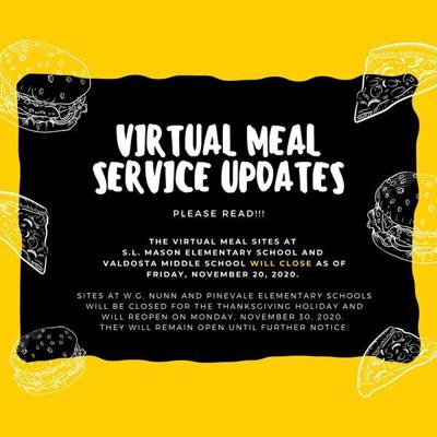 City schools change virtual meal sites