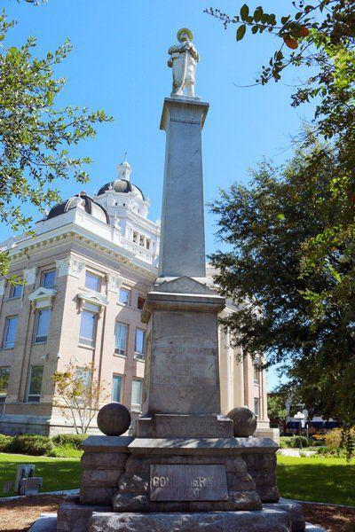 Confederate monuments embattled