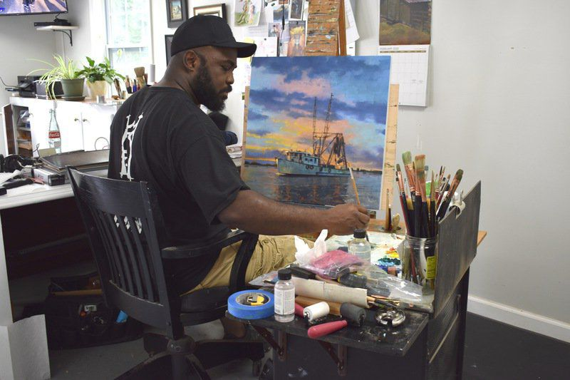 Man Behind the Canvas: Walker sees the light in South Georgia arts