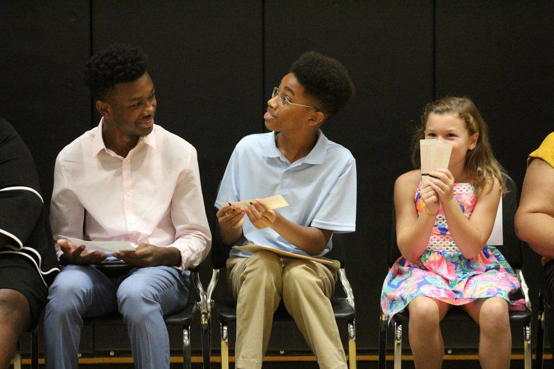 Students inspire teachers to have a great year