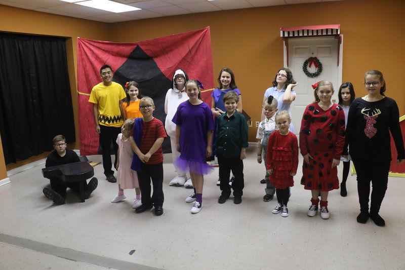 u0027Christmastime is Hereu0027 & Christmastime is Hereu0027: Children perform u0027Charlie Brown Christmas ...
