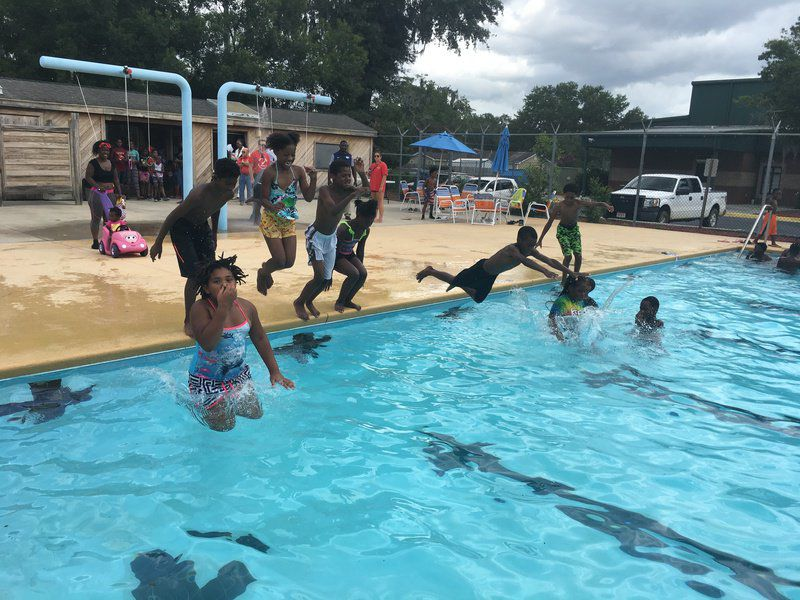 Donations support summer swimming