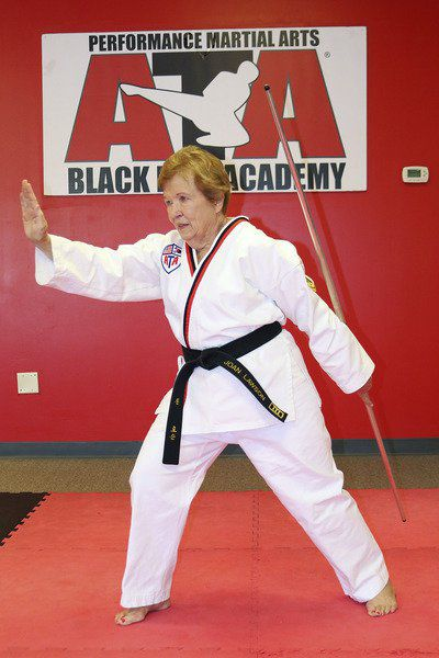 Lawson, Hodges prove martial arts has no age limit