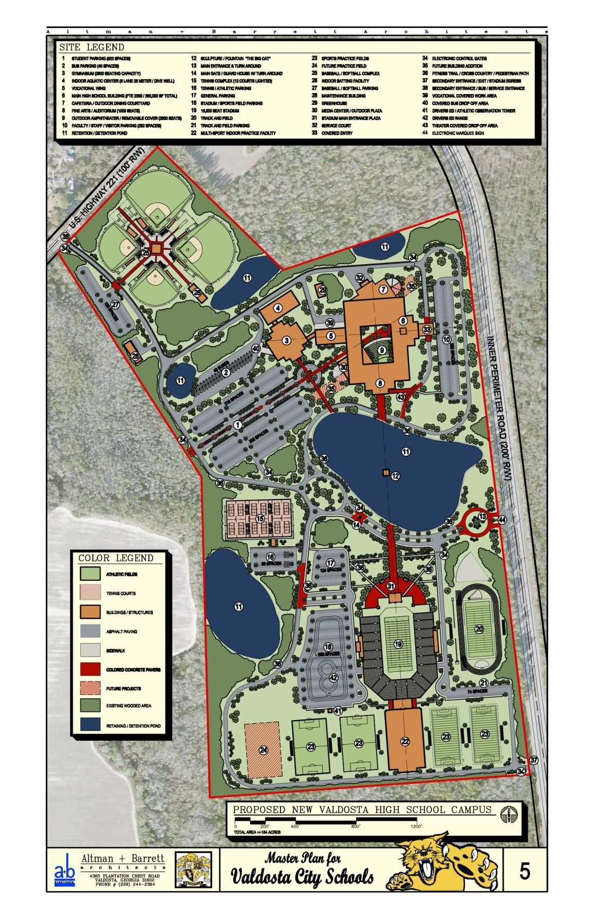 Planning under way for new Valdosta High