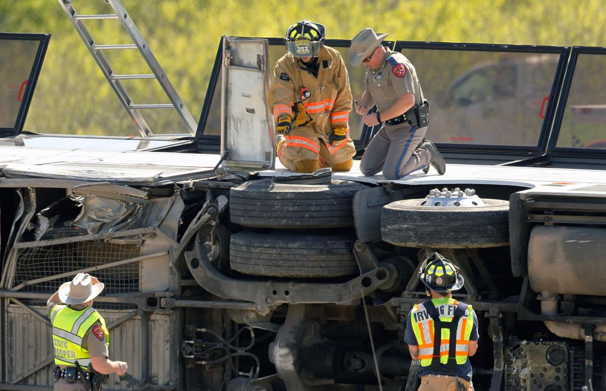 2 killed, dozens injured in bus crash near Dallas | News