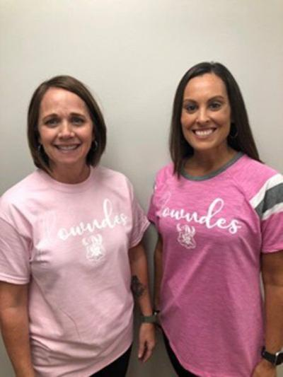 Lowndes offers 'Pink Out' shirts