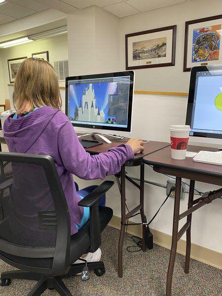 Going Digital: Turner Center hosts youth design class