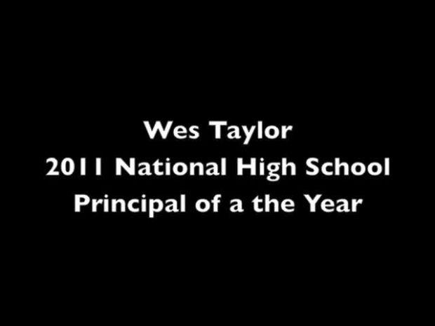 Wes Taylor Named National Principal Of The Year Local News