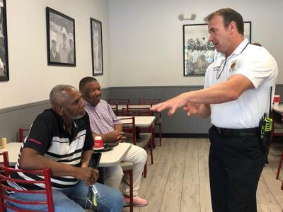 Police, fire chiefs meet public | Local News