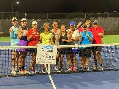 Local players 4.0 tennis team wins USTA State Championship