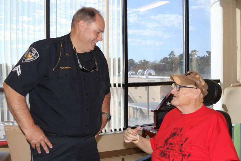Brothers in Arms: Hahira, Valdosta first-responders unite for veterans