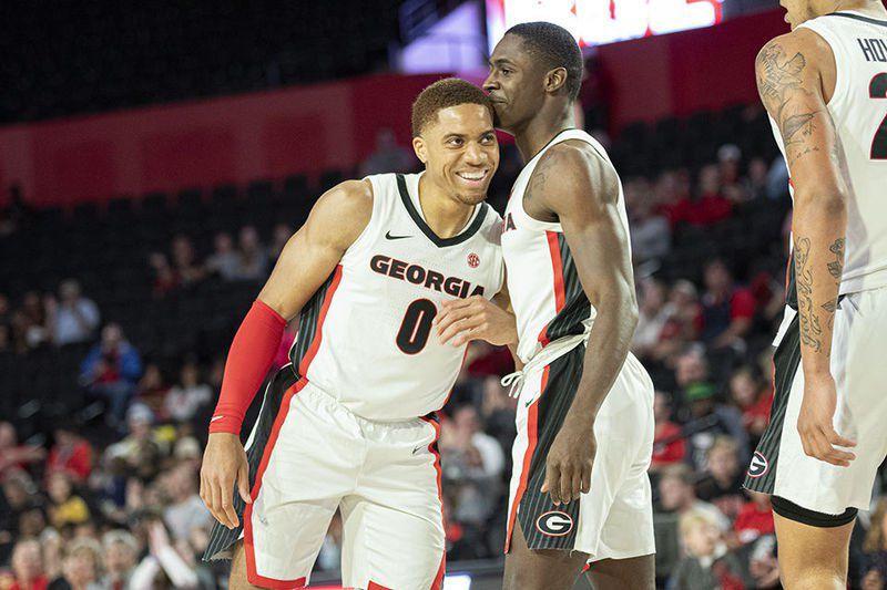 Senior send-offs: Bidding farewell to Georgia men's basketball's three seniors