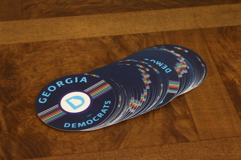 Dems went down to Georgia: Democrats canvass for Rice, Rivers