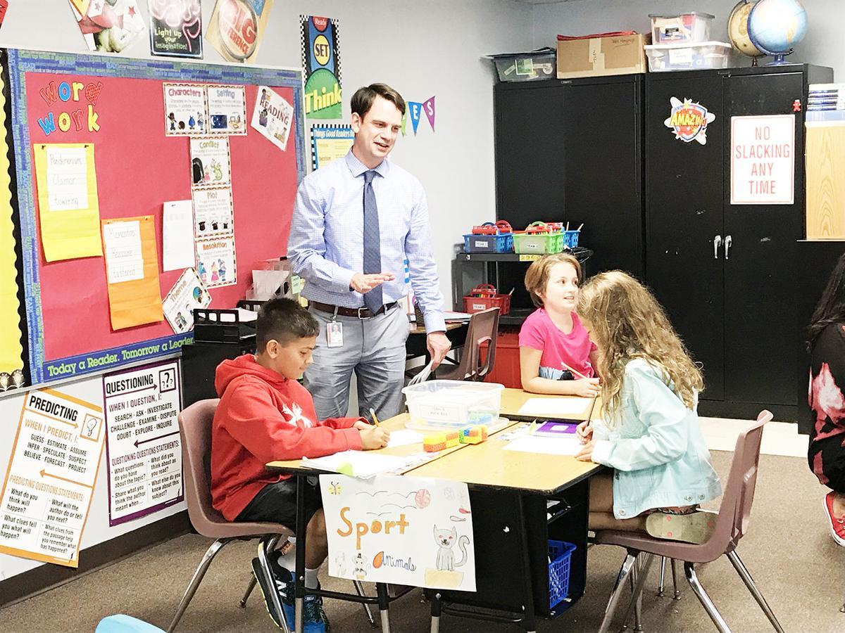 Director Wise visits Essex school