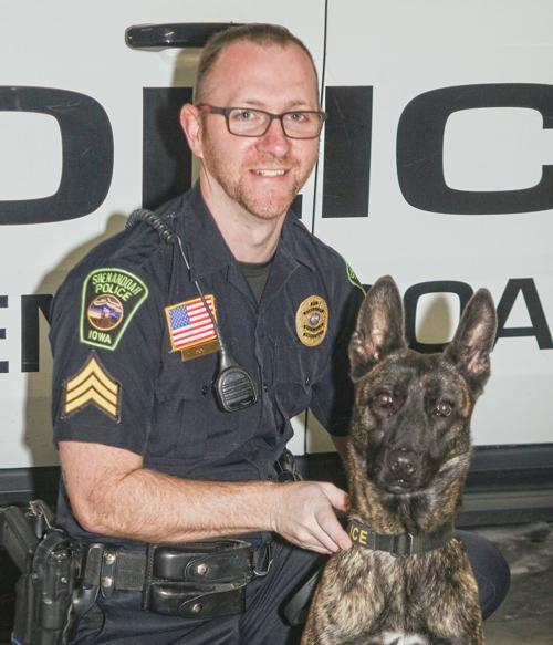 Shenandoah Police Department introduces K-9 officer Remmi