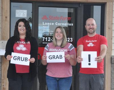 State Farm agent launches Grub Grab'