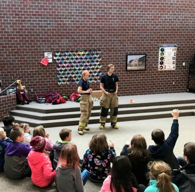 Cadet Program allows high school students to learn teamwork and help others
