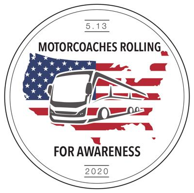 Clarinda motorcoach driver supports Rolling Awareness Campaign