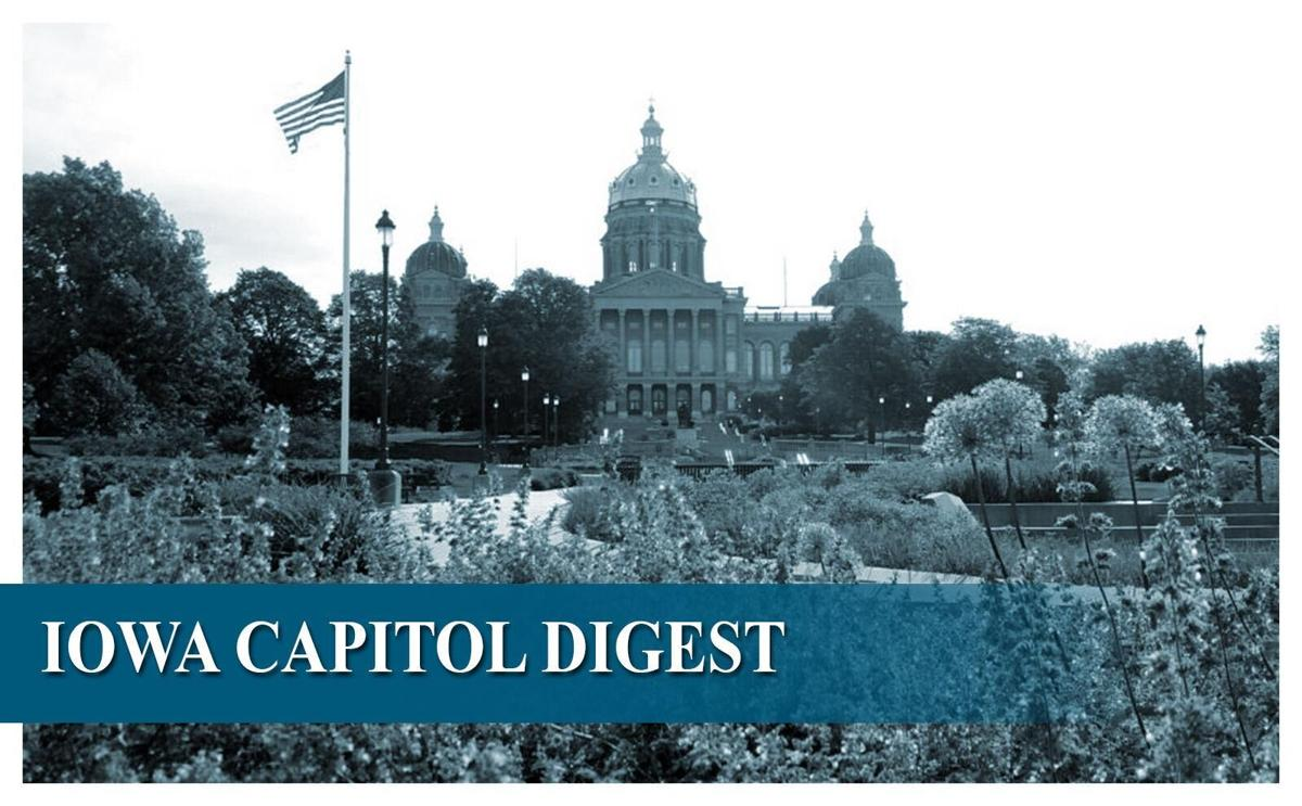 A roundup of legislative and Capitol news items of interest from Monday: