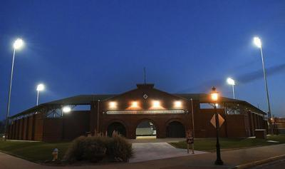 Commissioners to discuss updated ballpark agreement, police facility